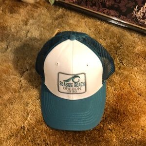 Blue 84 Seaside Beach Oregon Hat New